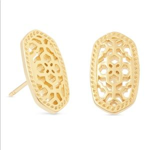 Kendra Scott Gold Ellie Earrings